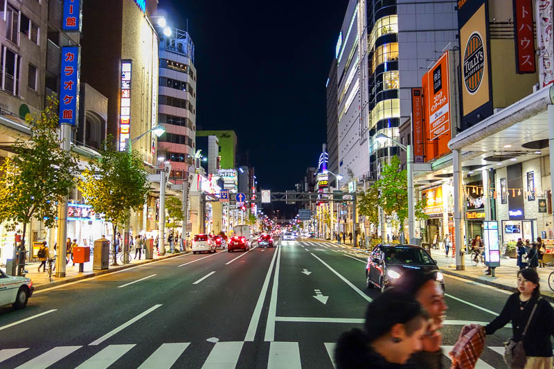 Japan-Hiroshima-Shopping Street-Food-Okonomiyaki - Too many places to eat
