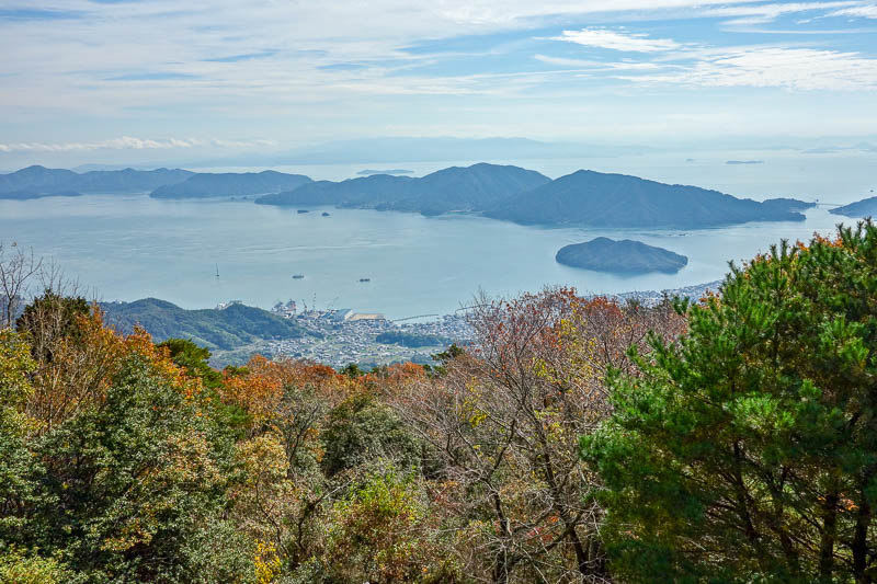 Japan-Hiroshima-Hiking-Kawajiri-Norosan - View from the top.