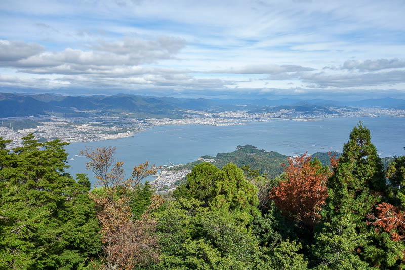Japan-Hiroshima-Miyajima-Hiking-Mount Misen - I took a lot of view photos, but have spared the world from scrolling to get past them.