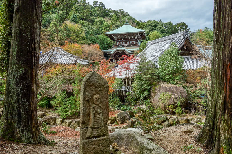 Japan-Hiroshima-Miyajima-Hiking-Mount Misen - There are still more temples to pay to look at, or climb around to photograph without paying.