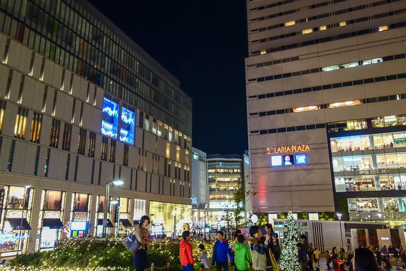 Japan-Fukuoka-Mall-Tenjin-Ramen - I dont even know what these places are, big stores in every direction.