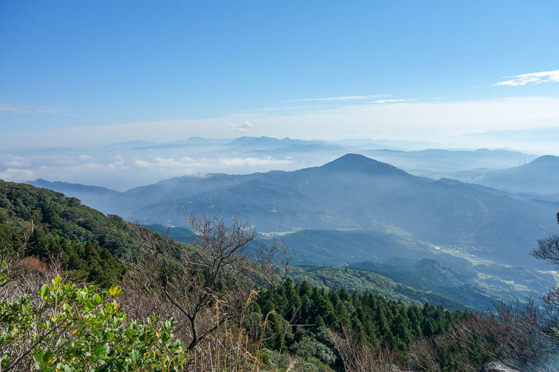 Japan-Fukuoka-Hiking-Mount Homan-Dazaifu - Other people