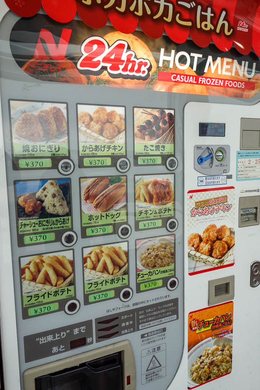 Japan-Fukuoka-Tokyo-Airport - Then I went up to the observation deck here and realised I could have got an even better bargain out of a hot food vending machine.