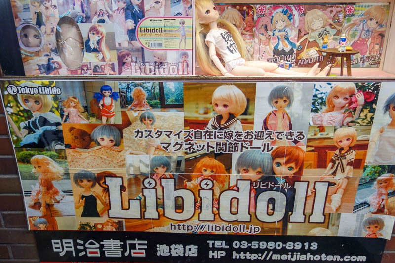 Japan-Tokyo-Ikebukuro-Guitar-Curry - Everyone needs a libidoll. Your risky internet use of the day is to enter the web address they have provided, www.libidoll.jp