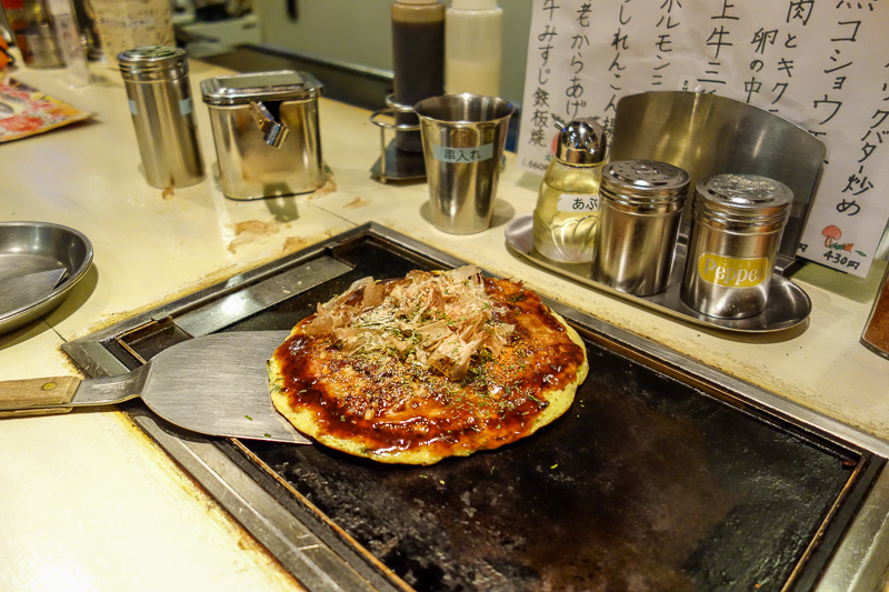 Japan-Toyama-Food-Okonomiyaki - Places to eat
