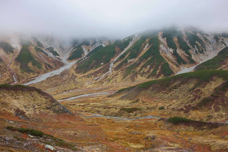 Japan-Tateyama-Kurobe-Alpine-Hiking - The view started to become excellent.