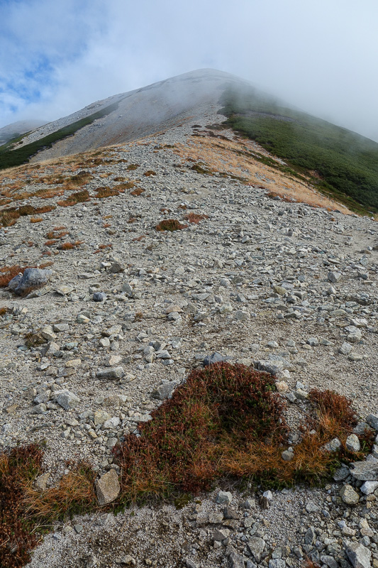 Japan-Tateyama-Kurobe-Alpine-Hiking - But I still had a long way to go. Thats not even the summit!