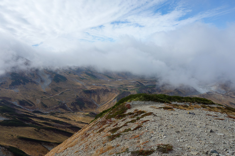 Japan-Tateyama-Kurobe-Alpine-Hiking - The views were amazing. I keep repeating myself here. Shut up and scroll.