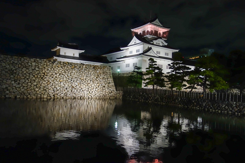 Japan-Toyama-Castle-Ramen - I walked past the Toyama recent re-creation of a castle.