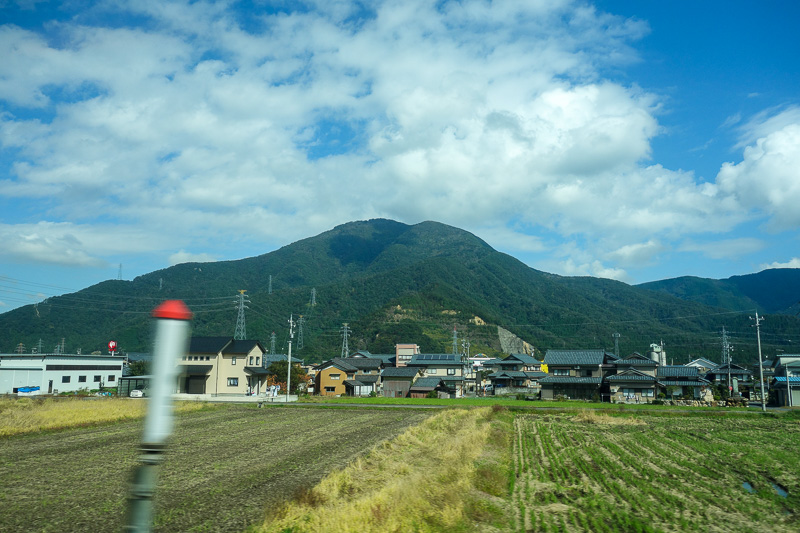 Japan-Kanazawa-Kyoto-Train - An actual view!