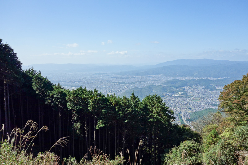 Japan-Kyoto-Hiking-Mount Hiei - More view, this is Kyoto.