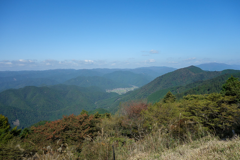 Japan-Kyoto-Hiking-Mount Hiei - Looking further up the valley.