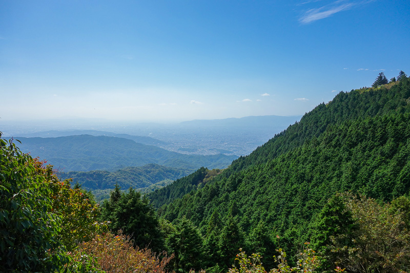 Japan-Kyoto-Hiking-Mount Hiei - And a little bit more view before I head to the real summit with no view.