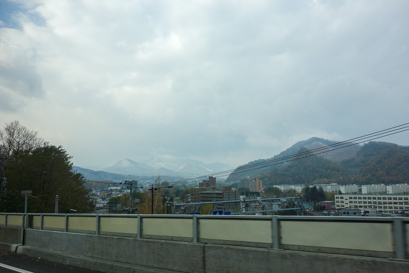 Japan-Sapporo-Hiking-Snow-Mount Soranuma - I guess I am going up there somewhere.