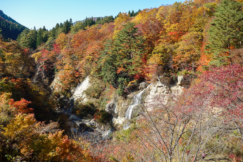 Japan-Sendai-Omoshiroyama-Hiking-Yamadera - There will be colors today. And views, lots of views.