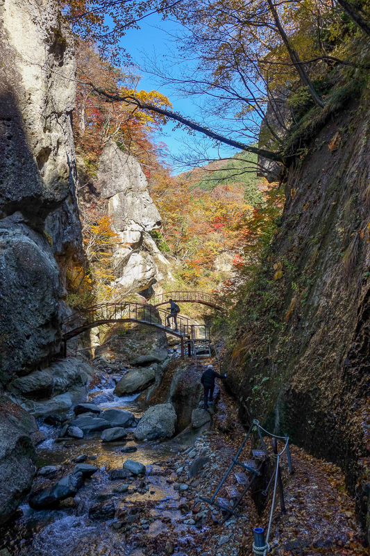 Japan-Sendai-Omoshiroyama-Hiking-Yamadera - More bridges.