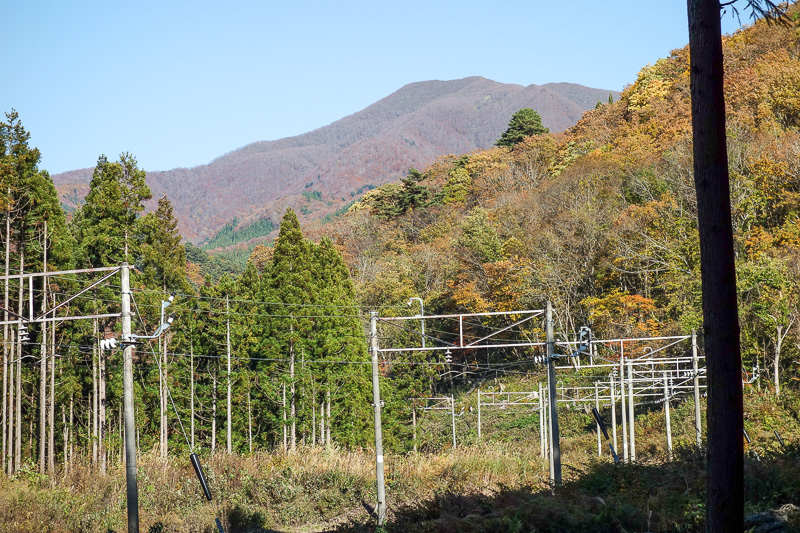 Japan-Sendai-Omoshiroyama-Hiking-Yamadera - From up here I could see tomorrows mountain which defeated me today.