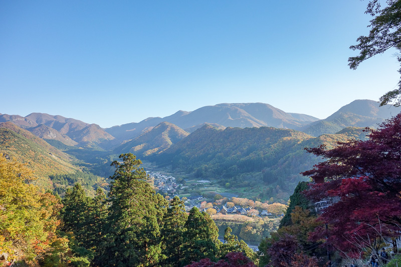 Japan-Sendai-Omoshiroyama-Hiking-Yamadera - Great view.