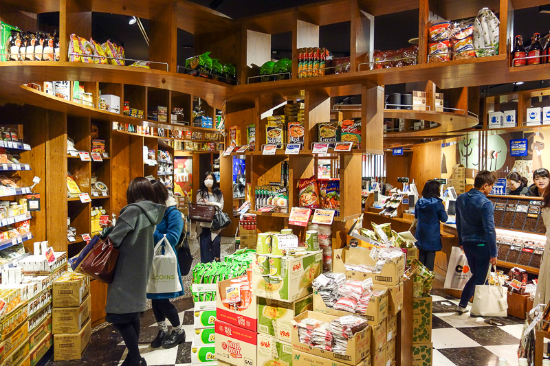 Japan-Sendai-Food-Mapo Tofu - This is an imported foods shop. It is actually quite large and impressive, lots of cool things you would not be able to find in Japan otherwise, inclu