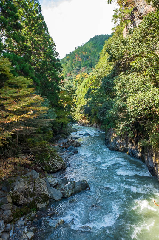 Japan-Kyoto-Hiking-Mount Atago-Arashiyama - Now I am walking along the magnificent river, yes MAGNIFICENT.