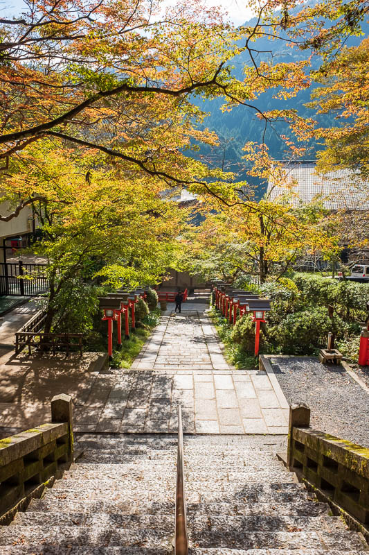Japan-Kyoto-Kurama-Hiking-Shrine - Yes, quite colorful.