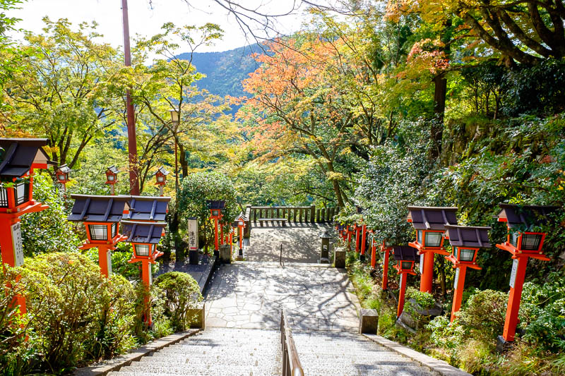 Japan-Kyoto-Kurama-Hiking-Shrine - A bit more marvelling from here.