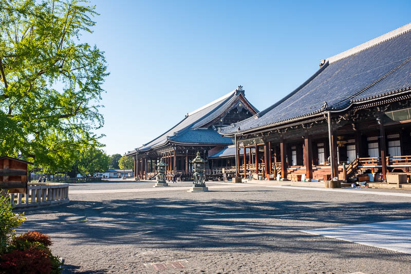 Japan-Kyoto-Osaka-Temple-Shrine - Still quiet here this early.