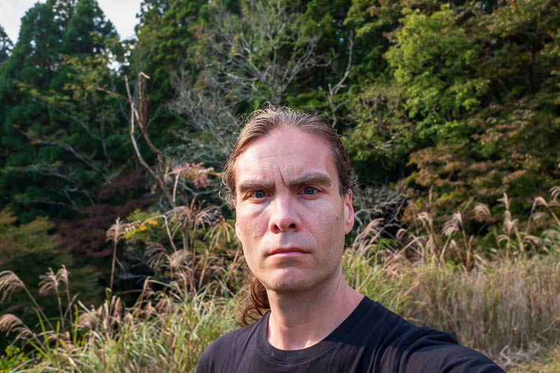 Japan-Nara-Hiking-Deer - OK, selfie as well.