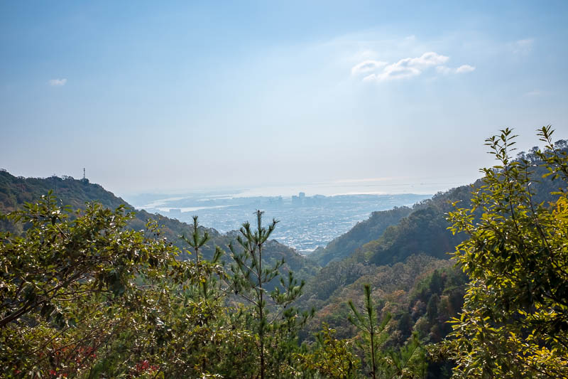 Japan-Kobe-Hiking-Mount Rokko - Kobe, or its suburbs anyway.