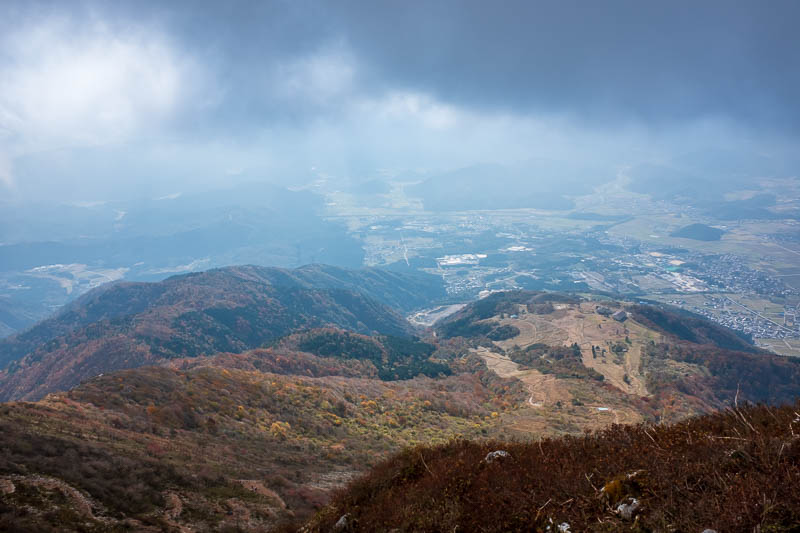 Japan-Hiking-Mount Ibuki - And finally, at the top. I was quite pleased with my progress.