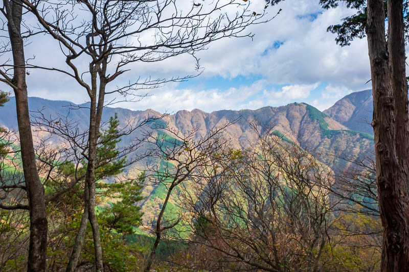 Japan-Hiking-Mount Tanzawa-Shibusawa - Great views no doubt, but I have to get up higher before the amazing views start.