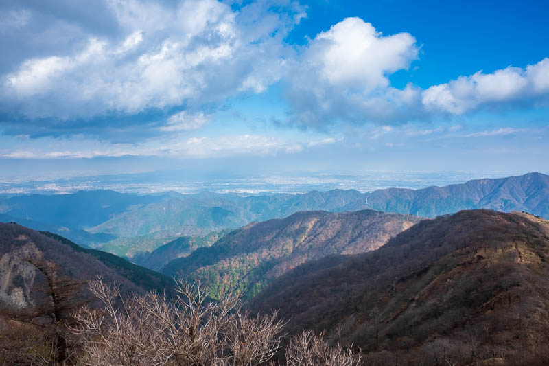 Japan-Hiking-Mount Tanzawa-Shibusawa - A bit more Tokyo. I needed zoom to make that work.