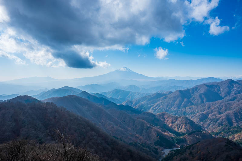 Japan-Hiking-Mount Tanzawa-Shibusawa - OK, one more because of the awesome clouds!