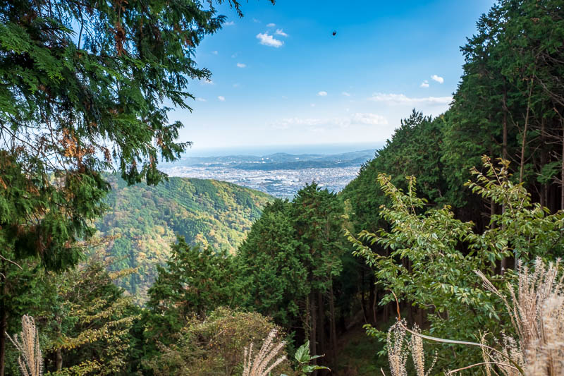 Japan-Hiking-Mount Tanzawa-Shibusawa - And as promised, heres the same photo I took on the way up showing the sizeable city of Shibusawa.