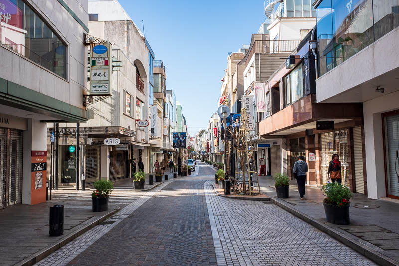 Japan-Yokohama-Tokyo-Cat-Akihabara - I found myself back at the Motomachi street. Looks good, but other than a couple of cafes, closed.