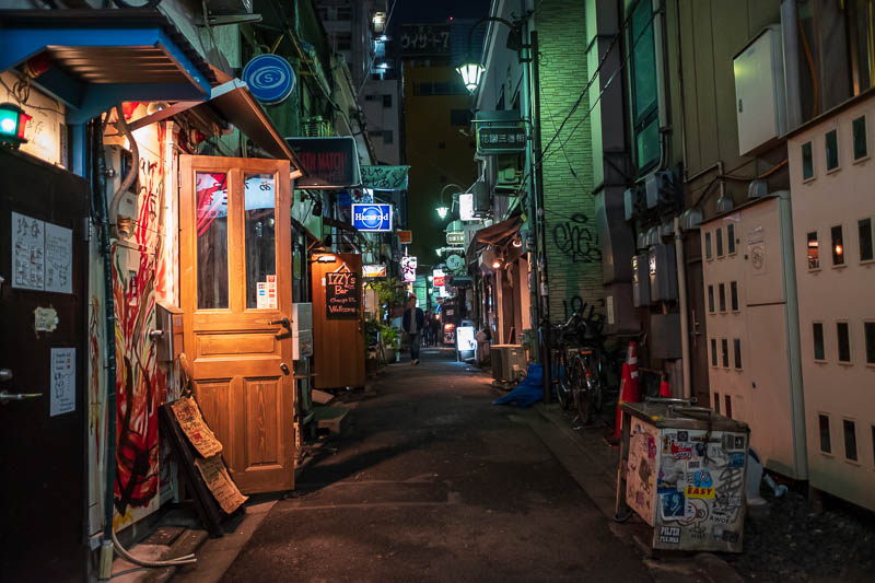 Japan-Tokyo-Shinjuku-Golden Gai-Ramen - OK, one more of the Golden Gai, I dont understand its allure.
