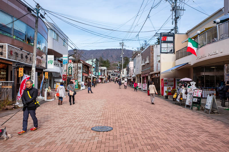 Japan-Nakasendo-Hiking-Karuizawa-Autumn Colors - This is their newly made Ginza tourist street, very popular.