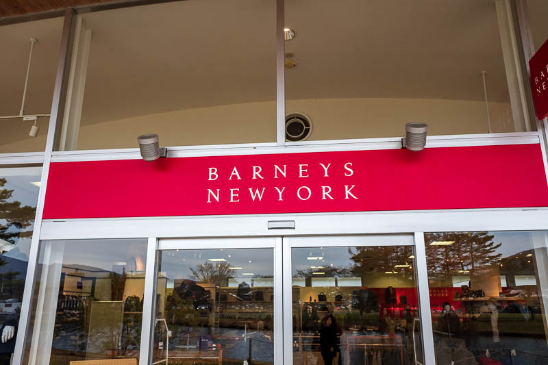 Japan-Nakasendo-Hiking-Karuizawa-Autumn Colors - It had brands I have never seen anywhere else ever. Barneys of New York is something you hear people talk about on TV shows set in New York for exampl