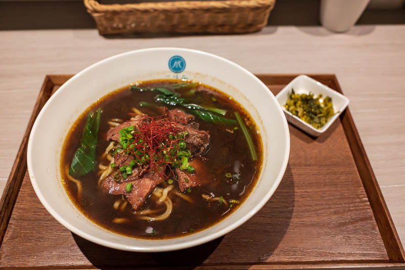Japan-Tokyo-Asakusa-Skytree-Food - DELICIOUS BEEF NOODLE SOUP. Noodles made by hand in store.