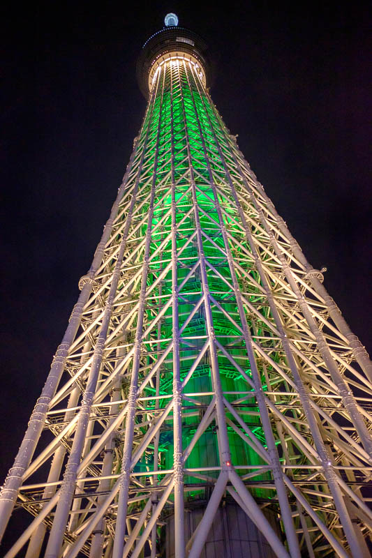 Japan-Tokyo-Asakusa-Skytree-Food - Last one for this evening, skytree in all its phallic glory.