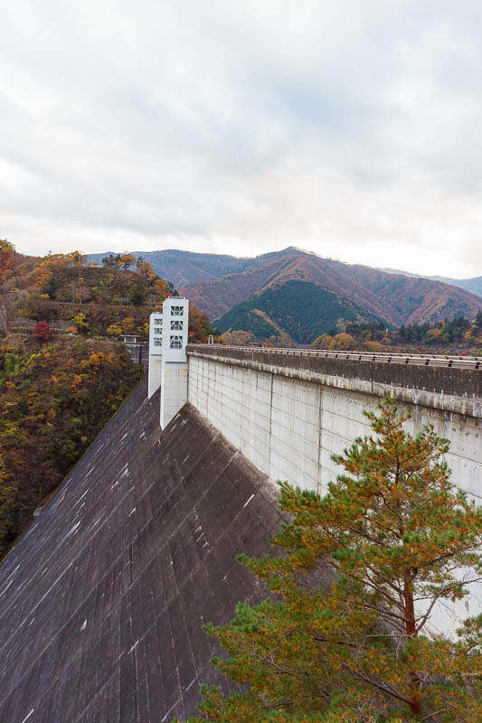 Japan-Okutama-Lake-Hiking - One last dam shot.