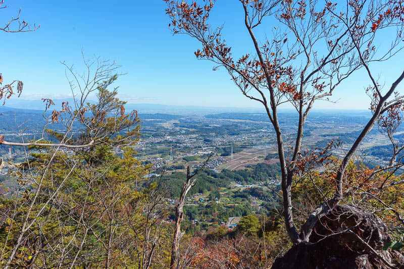 Japan-Gunma-Hiking-Mount Myogi - Another point where I found a safe spot to rest briefly, whip the camera out.