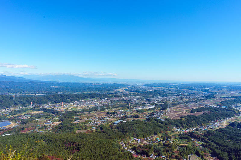Japan-Gunma-Hiking-Mount Myogi - Here I am, looking out on my kingdom, looking down my pig nose at everyone with disdain, DISDAIN.