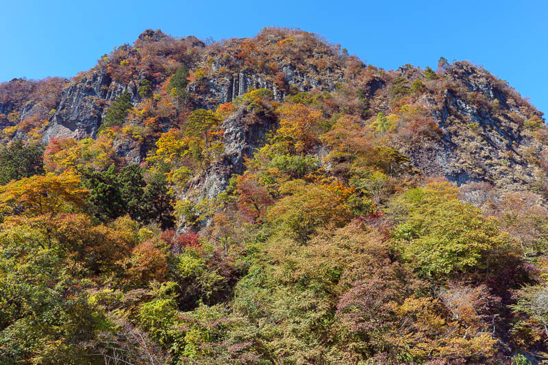 Japan-Gunma-Hiking-Mount Myogi - I looked down. I dont believe in 'dont look down'.