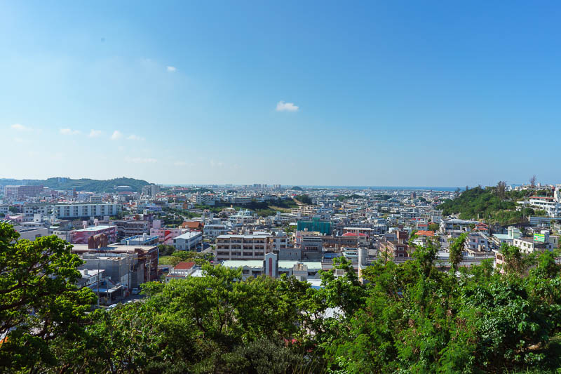 Japan-Okinawa-Naha-Navy - Here is the view of the far side of Naha, which is a large city.