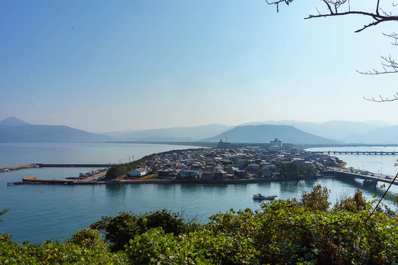 Japan-Karatsu-Castle-Hiking - I liked this view a lot. As you shall soon see, I took it from various heights, and then later in the day you shall see it again from my surprise moun