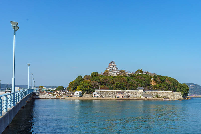 Japan-Karatsu-Castle-Hiking - I decided to take another shot from the ISTHUMUS, which is todays word of the day.