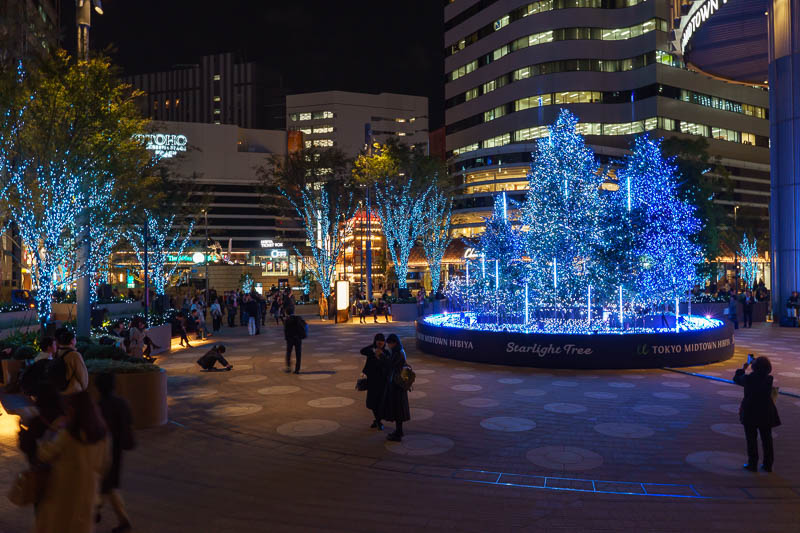 Japan-Nagasaki-Tokyo-Harajuku - This is one of the very new looking shopping centres near the imperial palace. The xmas lights show is all choreographed to music. The worst xmas song