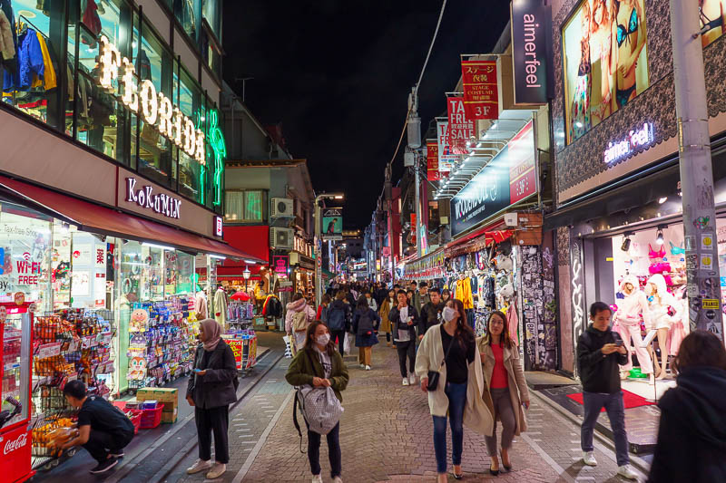 Japan-Nagasaki-Tokyo-Harajuku - This is Takeshita street. If you Australian and have been to Japan you have been here.