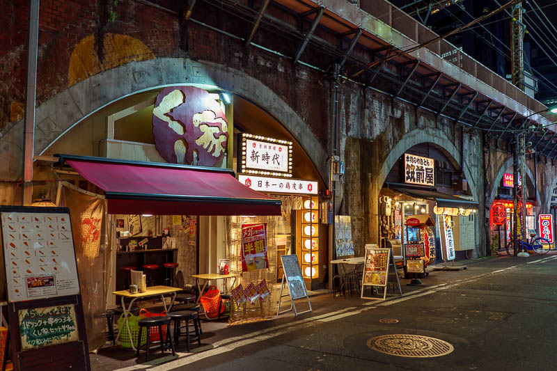 Japan-Tokyo-Shimbashi-Food - Quiet night in Shimbashi